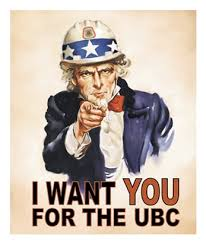 I want you for the UBC